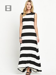south-stripe-ovoid-jersey-maxi-dress