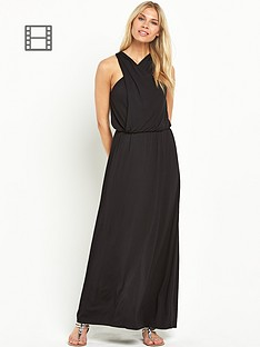 definitions-jersey-wrap-halter-neck-maxi-dress