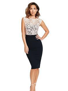myleene-klass-lace-top-dress