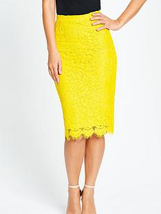 myleene-klass-lace-pencil-skirt