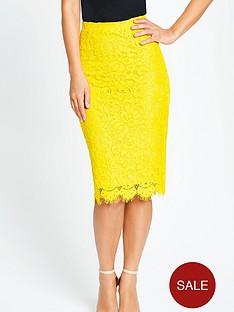 myleene-klass-lace-pencil-skirt