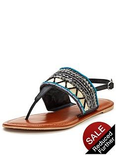 shoe-box-rowan-embellished-toe-post-sandals