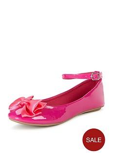 freespirit-girls-holly-bow-ballerina-shoes