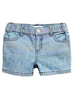 pumpkin-patch-girls-print-denim-shorts