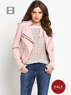definitions-pu-zip-biker-jacket
