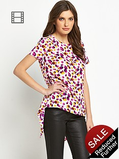 definitions-printed-split-back-blouse