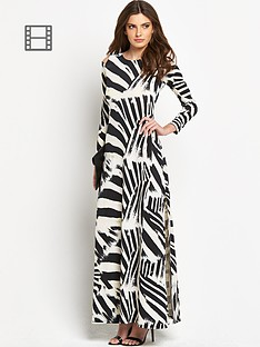 definitions-zebra-printed-maxi-dress