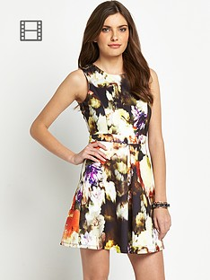 definitions-floral-printed-scuba-dress