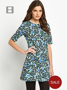definitions-leopard-print-scuba-dress