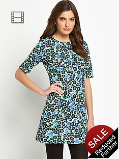 definitions-leopard-print-scuba-dress