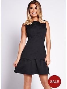 samantha-faiers-monochrome-drop-waist-dress