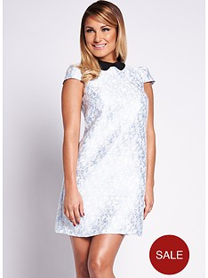 samantha-faiers-jacquard-dress-with-collar