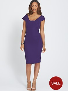 rochelle-humes-zip-back-bodycon-dress