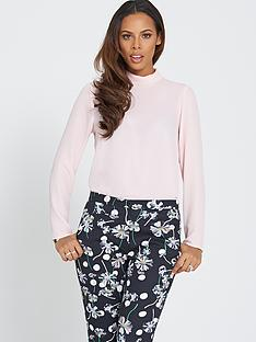 rochelle-humes-high-neck-blouse