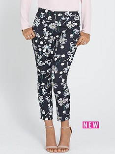 rochelle-humes-printed-trousers