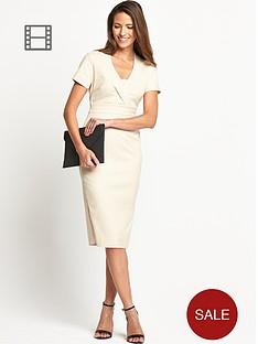 savoir-ottoman-rib-dress