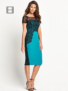 savoir-lace-detail-pencil-dress