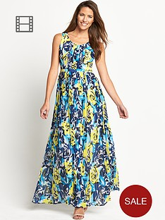 savoir-pleated-printed-maxi-dress