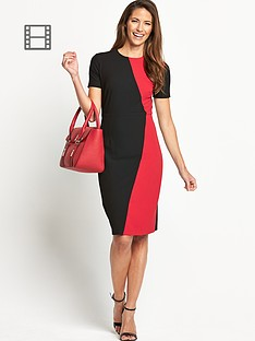 savoir-petite-colourblock-confident-curves-dress