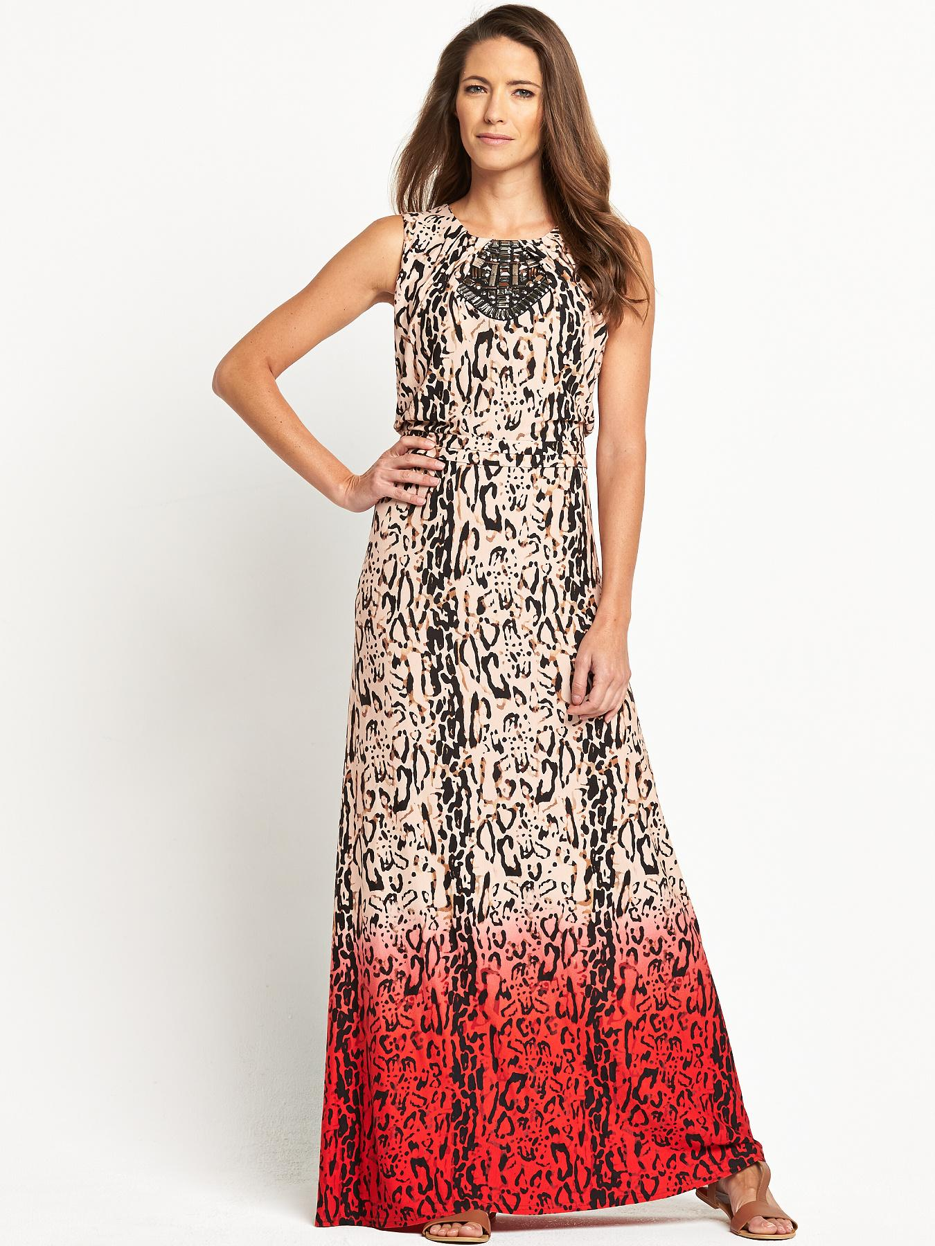 Savoir Petite Maxi Dress Embellished