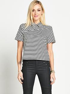 fearne-cotton-stripe-collared-top