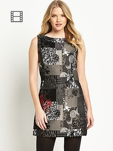 joe-browns-mystical-monochrome-shift-dress