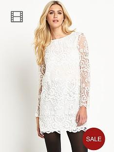 french-connection-nebraska-lace-shift-dress
