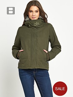 bench-wall-fur-trim-jacket