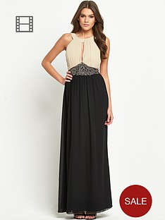 little-mistress-embellished-waist-2-in-1-maxi-dress