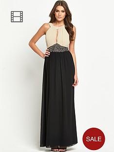 little-mistress-embellished-waist-2-in-1-maxi-dress
