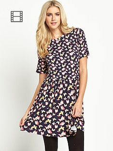 oasis-bold-butterfly-patch-dress