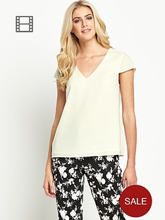 oasis-v-neck-crepe-top