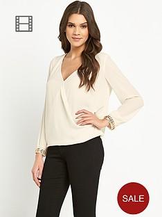 lipsy-michelle-keegan-cuff-blouse
