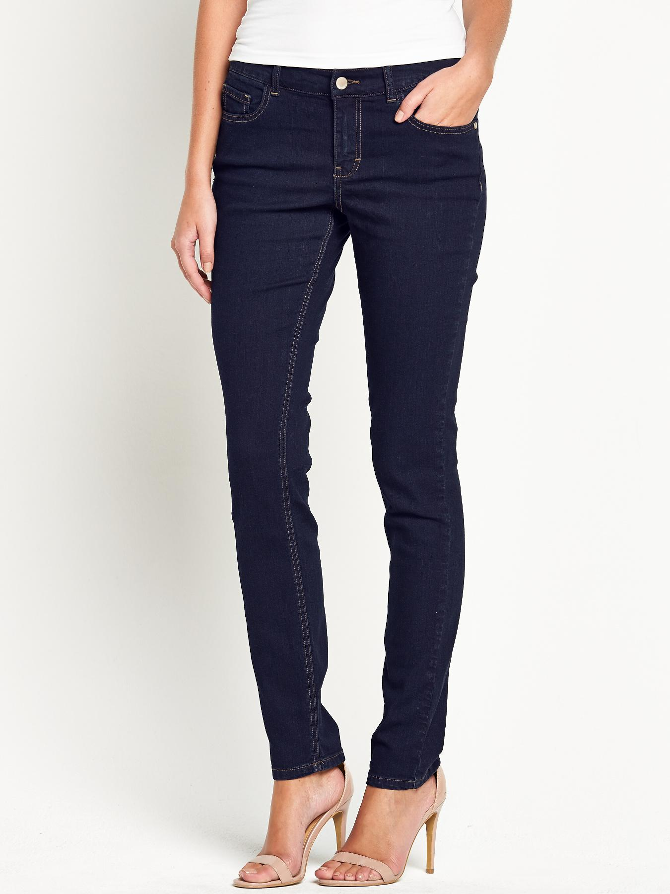 South Tall 1932 Skinny Jeans - Black, Black,Indigo,Blue