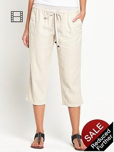 south-petite-linen-crop-trousers