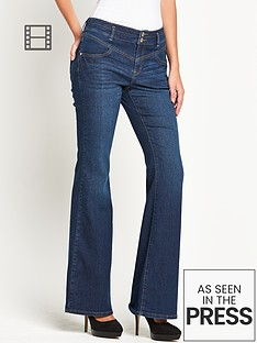 south-sexy-high-waist-chelsea-kickflare-jeans