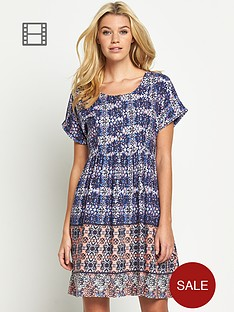 south-floral-print-smock-dress