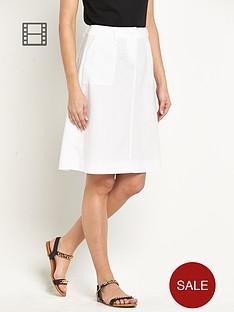 south-linen-knee-length-skirt