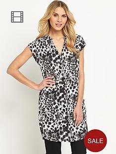 savoir-animal-printed-tunic-dress