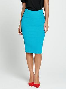 myleene-klass-textured-pencil-skirt