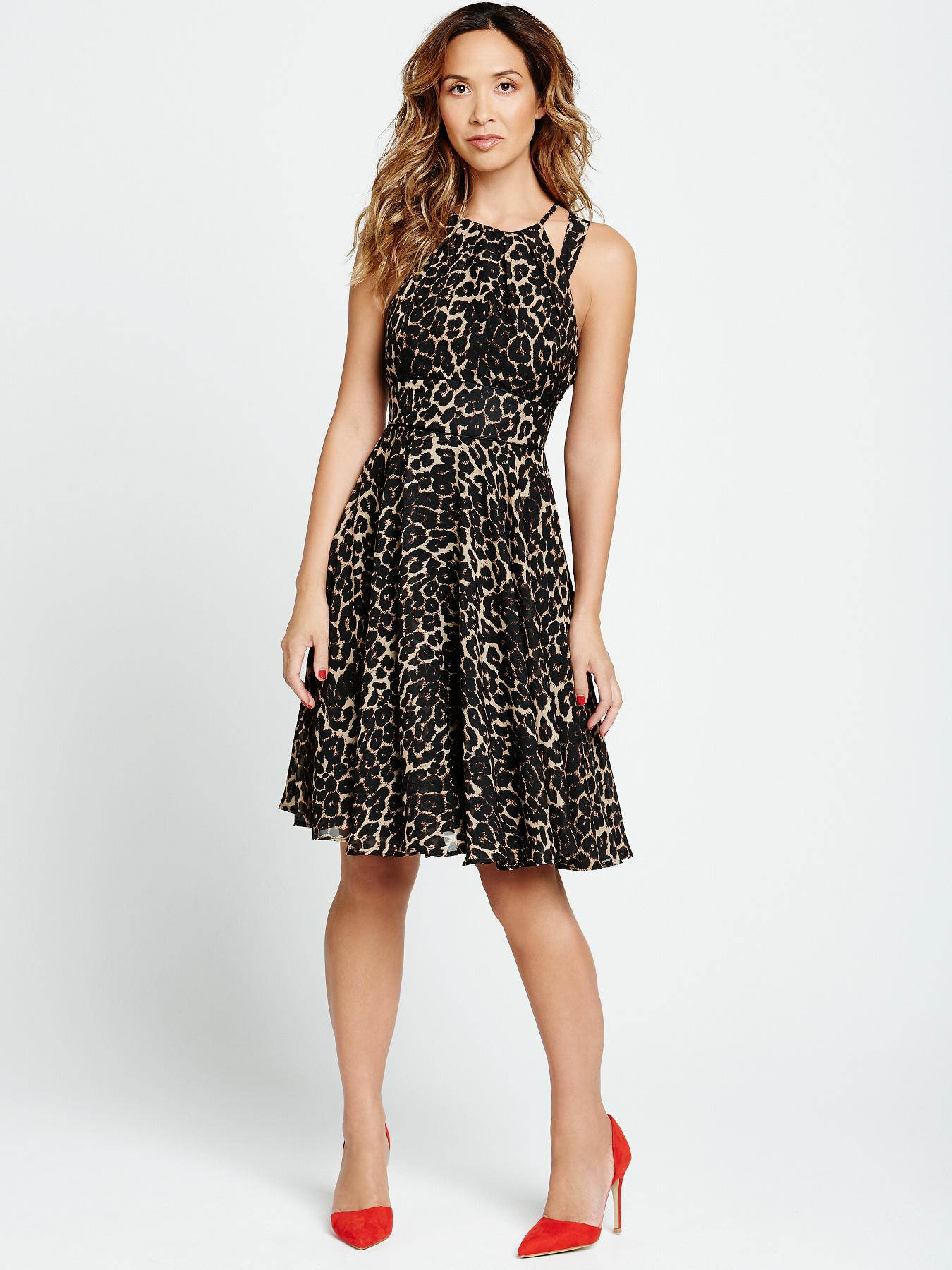 Myleene Klass Cut-Out Shoulder Dress.