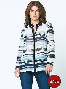 coleen-placket-front-blouse-stripe