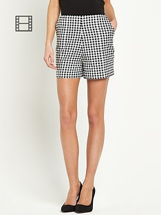 coleen-gingham-shorts