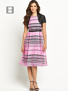 berkertex-stripe-prom-dress