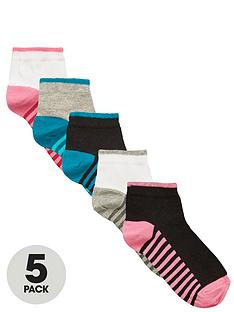 intimates-essentials-striped-footbed-trainer-socks-5-pack