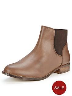 shoe-box-winnie-back-elastic-leather-chelsea-boots-tan