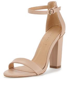 Nude Heels Sandals