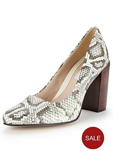 clarks-crumble-cream-snake-block-heel-court-shoes