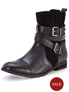 dune-poot-leather-and-suede-buckle-boots