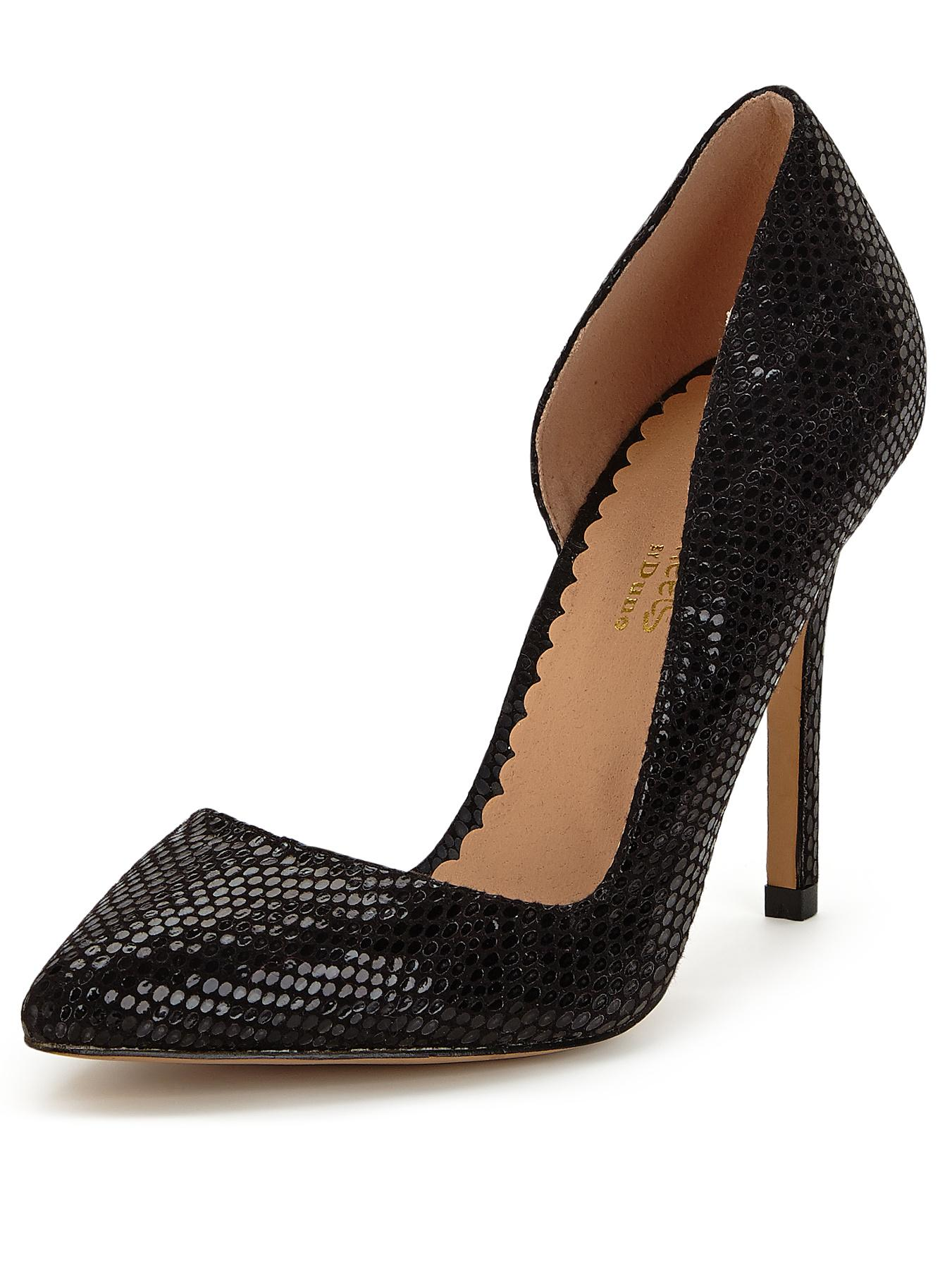 Head Over Heels Clarris Pointed Court Shoes - Black, Black
